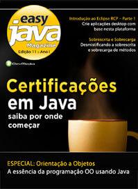 Revista Easy Java Magazine 11: Certificações em Java