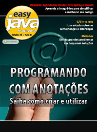 Revista easy Java Magazine 25