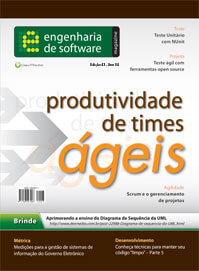Revista Engenharia de Software Magazine 43: Produtividade de Times Ágeis