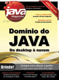 Revista Java Magazine 100: Domínio do Java. Do desktop à nuvem