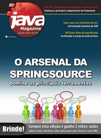 Revista Java Magazine 99: Principais ferramentas do SpringSource