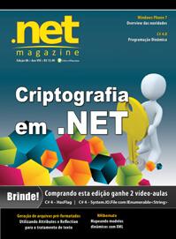 Revista .net Magazine 88: Criptografia em .Net