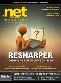 Revista .net Magazine 92: Melhorando o código com ReSharper