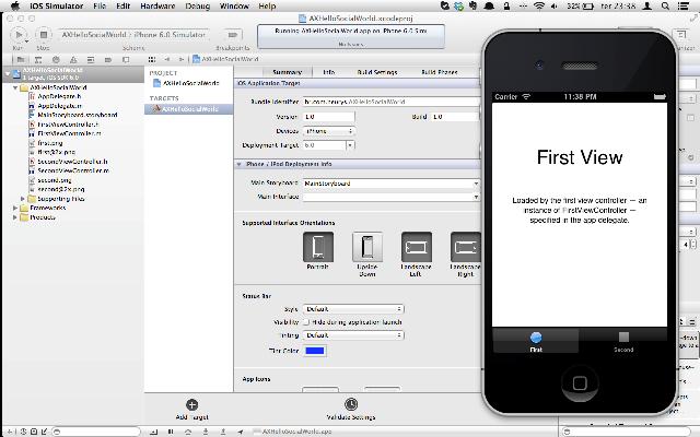 Executando o app pela primeira vez