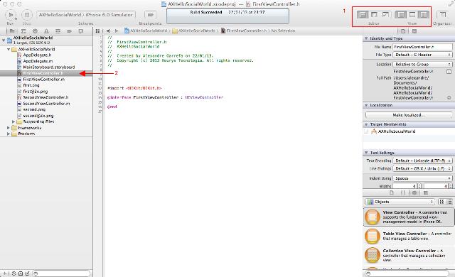 Configurando o layout para trabalho com classes