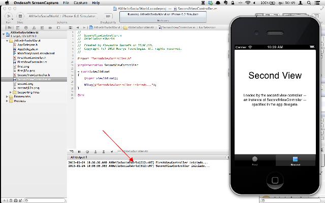 Executando o app e verificando a saída