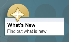 O que há de novo – Boas vinda