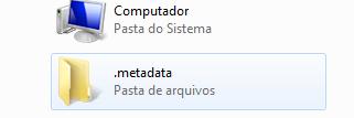 A pasta .metadata