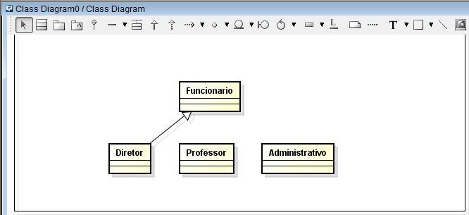 Diretor é classe derivada de Funcionário