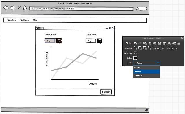 Focus Data Chooser / Data Picker