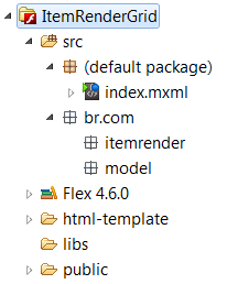 Estrutura do Projeto ItemRender