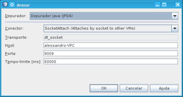 Configurando depurado no NetBeans