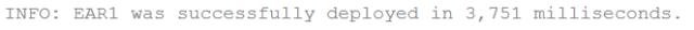 Resultado da Aba GlassFish Server