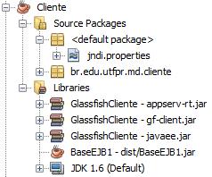 Estrutura do Projeto Cliente