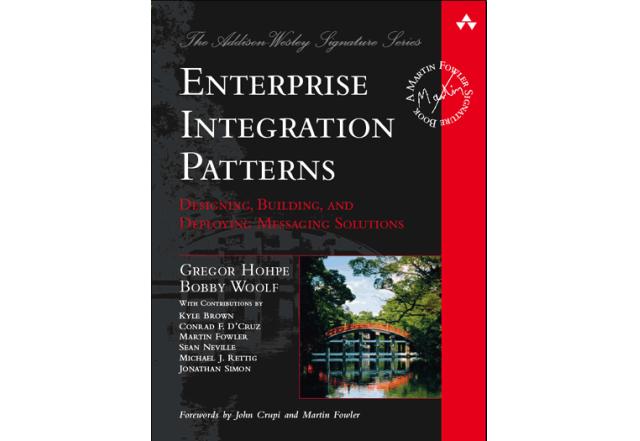 Livro clássico sobre EIP escrito por Gregor Hohpe e Bobby Woolf