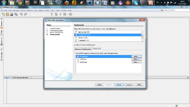 Configurando o JSF junto com o PrimeFaces