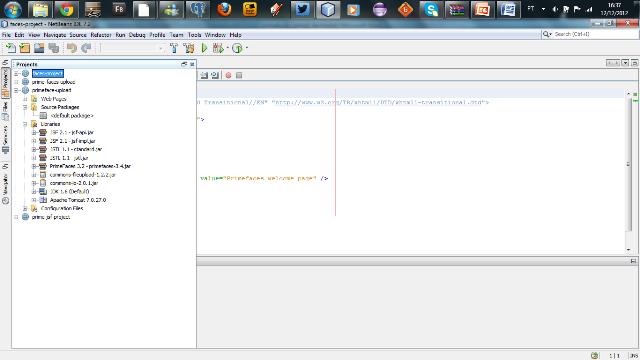 Estrutura do projeto após configurar o classpath