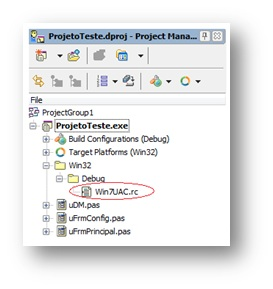 Win7UAC no Project Manager