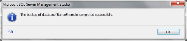 Backup gerado com sucesso
