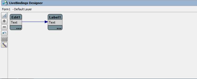 Ligação da Propriedade Text do edit com o Text do Label