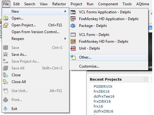 Etapa para adicionar um novo server module