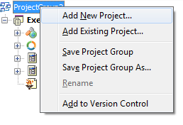 Adicionando um projeto cliente