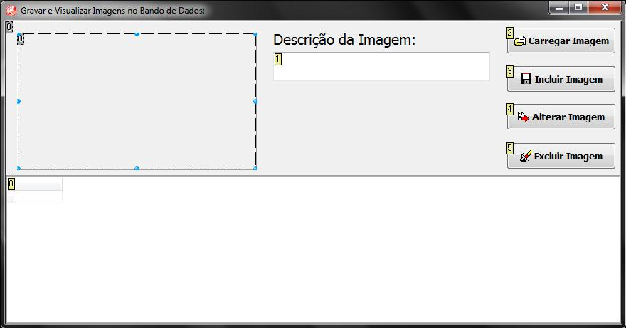 Exibe layout final da tela