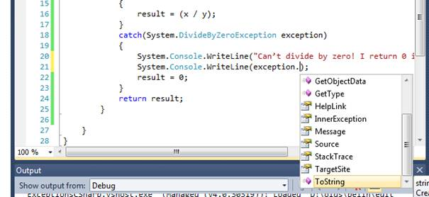 Exception Example