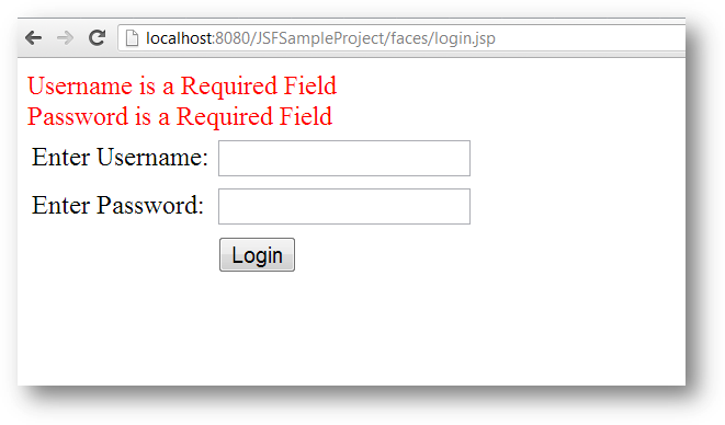 example jsp button