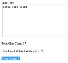 Word Count Example